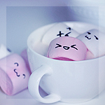 Аватар Маршмеллоу в белой кружке, by meganjoy