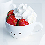 Аватар Чашка с клубникой со сливками, by meganjoy