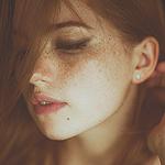 Аватар Рыжеволосая девушка с веснушками, by MartaSyrko