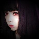 Аватар Berry Tsukasa / Берри Цукаса с темными волосами и красными глазами