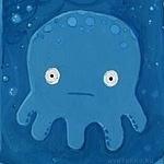 99px.ru аватар Забавный осьминог под водой