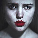 Аватар Девушка со слезами на глазах, by cristina-otero
