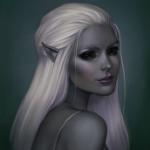 Аватар Светловолосая эльфийка, by JuneJenssen