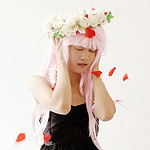 Аватар Косплей вокалоид Мегуринэ Лука / vocaloid Megurine Luka на песню Just Be Friends