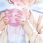 Аватар Девушка с розовой кружкой в руках