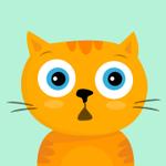 99px.ru аватар Удивленный рыжик котик