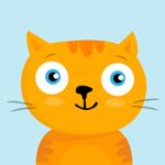 99px.ru аватар Рыжий голубоглазый котик улыбается