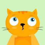 99px.ru аватар Задумчивый рыжий котик