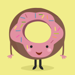 Аватар Мило улыбающийся пончик