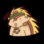 Аватар Bristleback / Брист - персонаж игры Дота 2 / Dota 2, art by chroneco