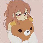 Аватар Девушка с плюшевым Рилаккумой