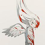 Аватар Ангел, тело которого испачкано кровью
