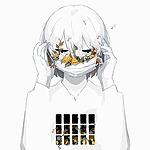 Аватар Мальчик одевает маску с цветами
