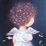 Аватар Ангелочек держит руку со скрещенными пальчиками за спиной