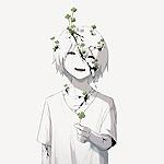 Аватар Смеющийся мальчик с четырехлистным клевером в руке, тело которого покрывают трещины, из которых растет все тот же клевер
