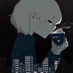 Аватар Мальчик-ночь пьет горячий чай