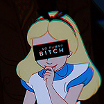 Аватар Алиса из мультфильма Алиса в стране чудес / Alice In Wonderland (so funny BITCH)