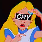 Аватар Алиса из мультфильма Алиса в стране чудес / Alice In Wonderland (CRY)