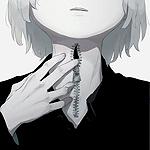 Аватар Мальчик с молнией на шее
