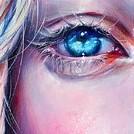 Аватар Голубой глаз девушки, автор Bridget G