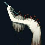 Аватар Мальчик выдирает из своей спины гвозди, by avogado6