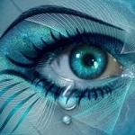 Аватар Глаз девушки со слезой, by Lilyas