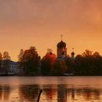 Конкурсная работа Храм на Введенском озере, Владимир