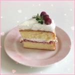 Аватар Пирожное на розовой тарелке