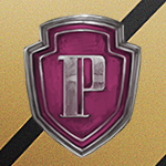 Аватар Аватар Значок старосты факультета / Prefects badge на фоне цветов факультета Хаффлпафф / Hufflepuff школы Хогвартс / Hogwarts