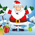 Аватар Дед Мороз на фоне подарков и елок
