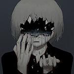 Аватар Мальчик с дырой на лице, из которой течет вода, by avogado6