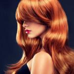 Аватар Красивая модель с длинными волосами