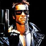 Аватар Терминатор с пистолетом в руке