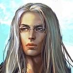 Аватар Длинноволосый парень в очках