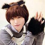 99px.ru аватар Певец и актер Иноо Кей / Inoo Kei из группы Хэй! Сэй! ДЖАМП / Hey! Say! JUMP изображает кота для телепередачи Зоопарк Шимуры / Shimura Doubutsuen