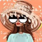 99px.ru аватар Девушка в очках и шляпе