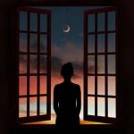 99px.ru аватар Девушка стоит у открытого окна