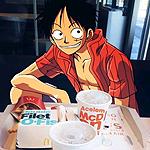 99px.ru аватар Монки Д. Луффи / Monkey D. Luffy из аниме Ван Пис / One Piece
