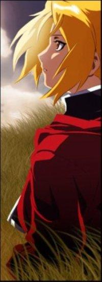 Обои Эдвард Элрик / Edward Elric из аниме Стальной Адхимик / Fullmetal Alchemist