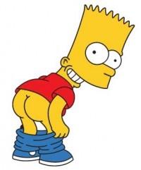 Аватар вконтакте Барт Симпсон с голой ...: 99px.ru/avatari_vkontakte/355