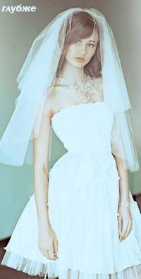 Обои невеста, девушка, глубже
