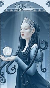 Обои снежная королева, Winte