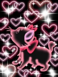 Аватар вконтакте разноцветные сердечки.