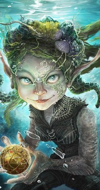 Обои Богиня моря