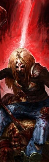 Обои Кровавый убийца