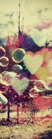 Обои мыльные пузыри