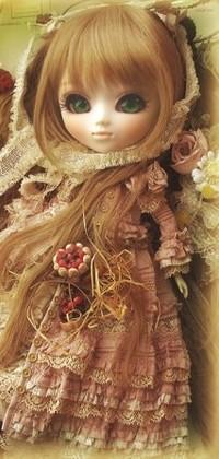 Аватар вконтакте Милая кукла-ребёнок
