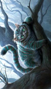 Аватар вконтакте Улыбка чеширского кота