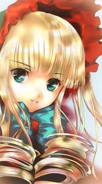 Обои Синку / Cinco из аниме Розен Мэйден / Дева Роза / Rozen Maiden