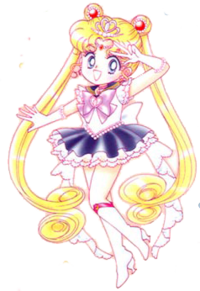 Обои Сейлор Мун / Sailor Moon из аниме Сейлор Мун / Sailor Moon